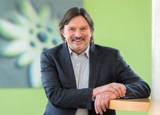 DAV-Vizepräsident Rudi Erlacher (c) DAV/Tobias Hase
