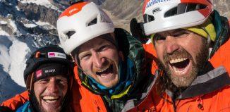 Erstbegehung am Cerro Kishtwar: Erfolg für Thomas Huber, Stephan Siegrist und Julian Zanker (c) Timeline Productions