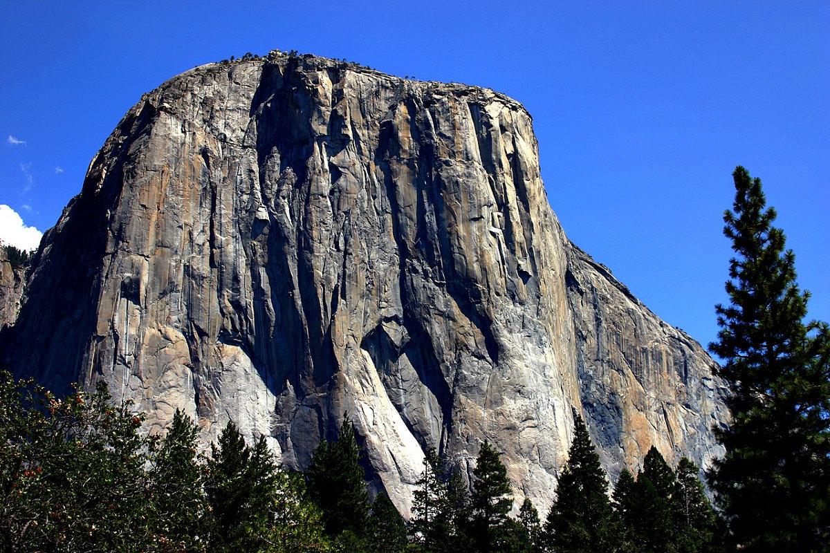 Die Südwestwand des El Capitan im kalifornischen Yosemite Valley, USA (c) Mike Murphy