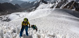 Der Damen-Expeditionskader auf Abschlussexpedition in Tadschikistan. (c) Dörte Pietron