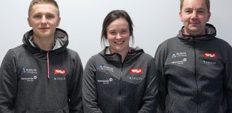Pawel Draga, Ellie Howard und Roman Krajnik (c) Heiko Wilhelm (KVÖ)