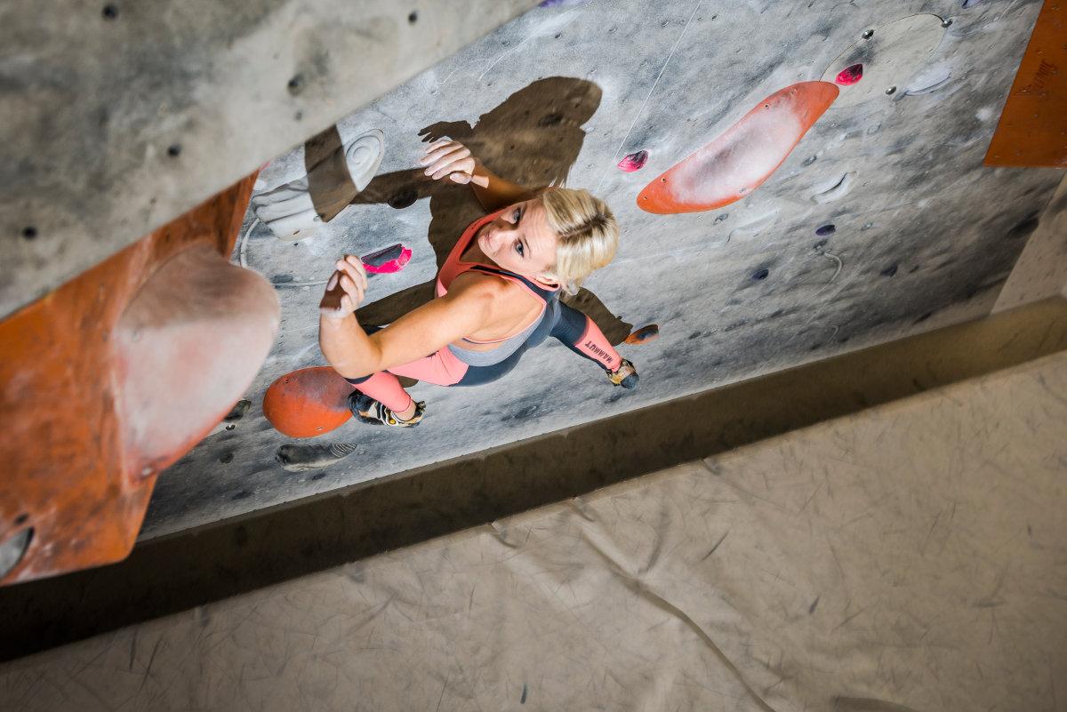 Kletterausrüstung Mammut : Neue mammut pro team athletin: sierra blair coyle climbing.de
