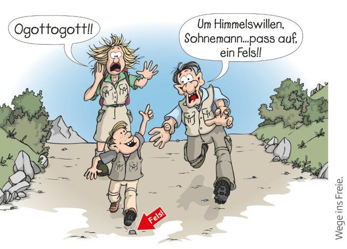 Kinder brauchen Abenteuer: ÖAV plädiert für Entwicklungsspielraum und 'Mut zum Risiko' (c) Österreichischer Alpenverein