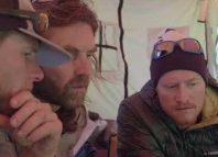 Thomas Huber, Stephan Siegrist und Julian Zanker am Cerro Kishtwar (c) Desnivel TV