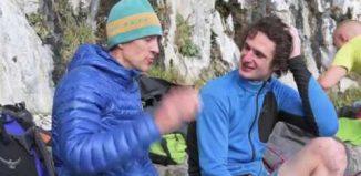 Adam Ondra tries Rainman (9b): Britain's hardest climb (c) teamBMC
