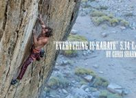 Chris Sharma on 'Everything is Karate' (5.14c/d) (c) Sharma Channel