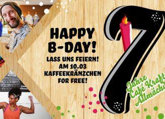Birthday Kaffeekränzchen-Cup 2018 im Café Kraft Nürnberg (c) Café Kraft