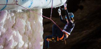 Han Na Rai Song siegt beim Eiskletterweltcup 2018 in Rabenstein (c) Patrick Schwienbacher