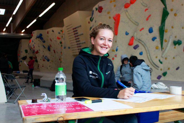 Lust auf einen Blick hinter die Kulissen? Alpenverein und Kletterverband suchen motivierte Freiwillige für die Kletter-WM 2018! (c) Volunteer Team Tirol
