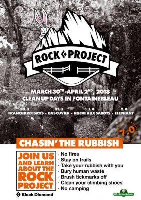 Chasin' the Rubbish 2018 in Fontainebleau (c) Black Diamond