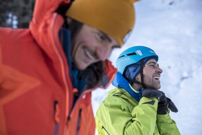 Neue Mixed-Route von Simon Gietl und Vittorio Messini (c) Damiano Levati