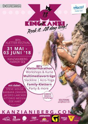 King of Kanzi: 80s Kletterfestival am Kanzianiberg
