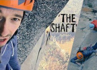 Climbing The Shaft: Nate Murphy Gets Schooled On Big Walls And Massive Exposure (c) EpicTV