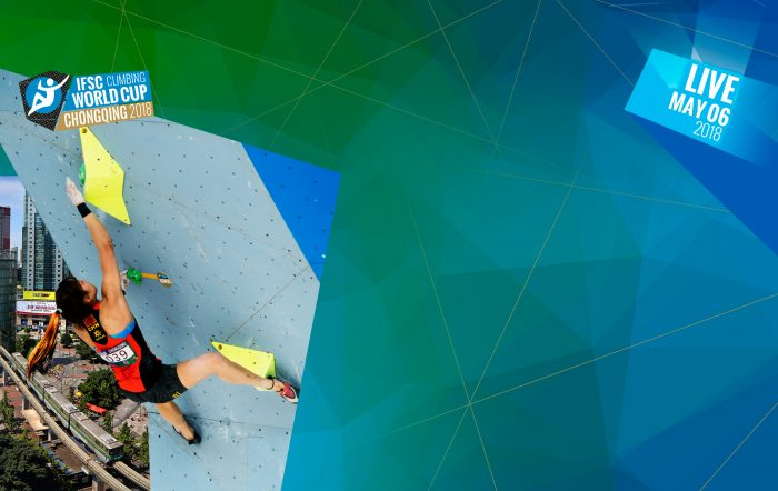 Boulderweltcup 2018 in Chongqing (c) IFSC