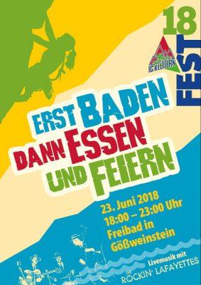 IG Klettern Fest 2018