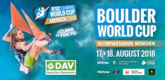 Boulderweltcup 2018 Finale im Münchner Olympiastadion