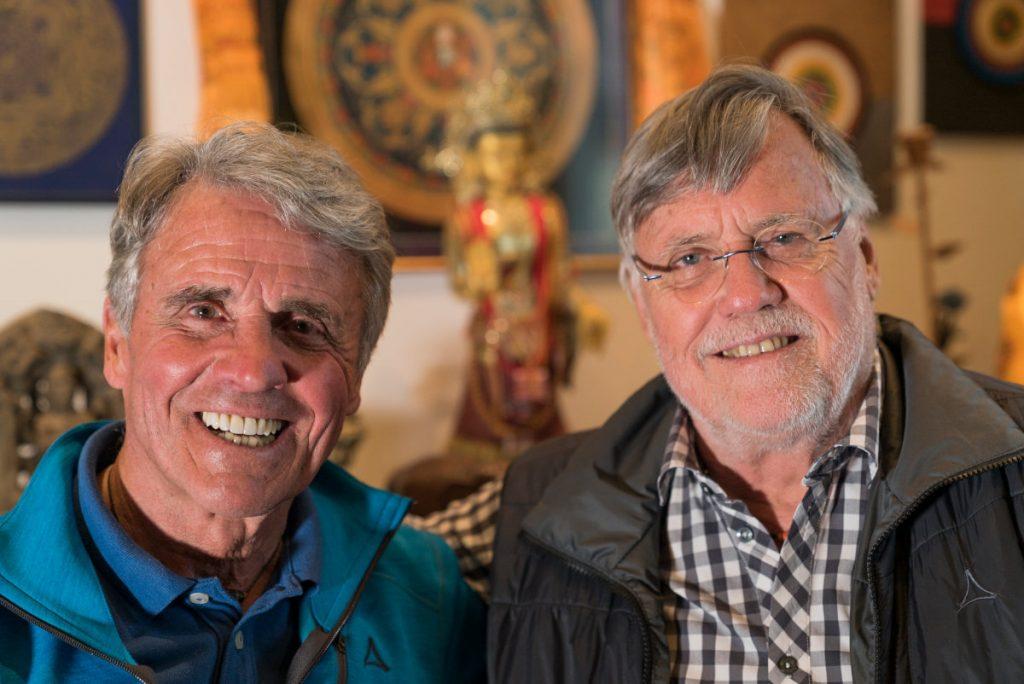 Peter Habeler und Wolfgang Nairz (c) Filmfest, Joi Hoffmann