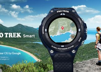 Raus ins Abenteuer mit der smarten Outdoor Uhr WSD-F20A von Casio Pro Trek (c) Foto: Casio