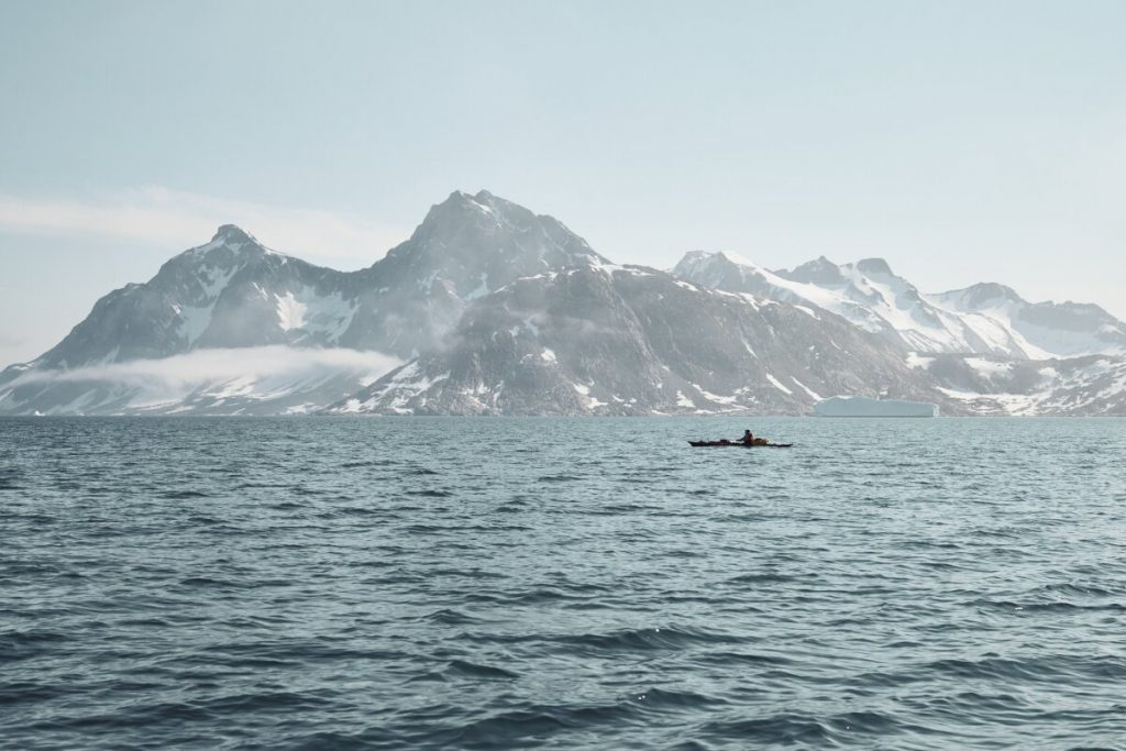 Robert Jasper in Grönland (c) Frank Kretschmann