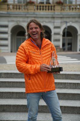 Marek Holecek gewinnt Piolets d'Or 2018 (c) Mammut