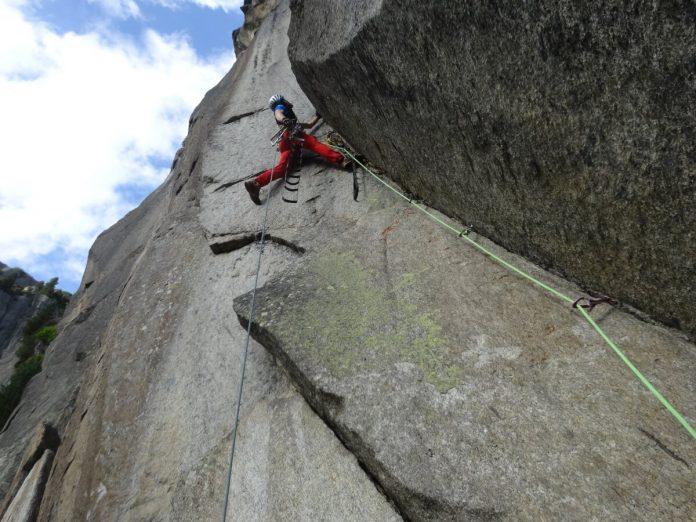 Bigwall-Erstbegehung in den Urner Alpen durch Alpinkader NRW (c) Alpinkader NRW