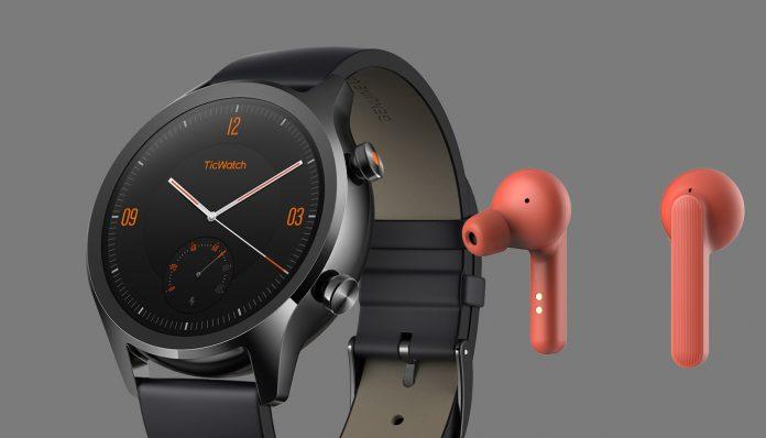 Mobvoi launcht Premium-Smartwatch TicWatch C2 und Kopfhörer TicPods Free (c) Mobvoi