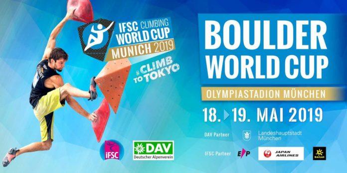 IFSC Boulderweltcup 2019 in München (c) Deutscher Alpenverein
