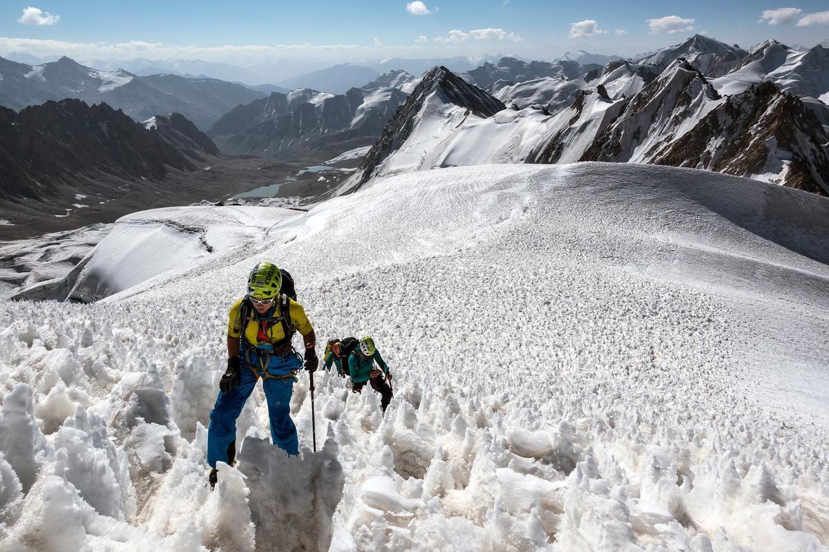 Auf Expedition in Tadschikistan (c) DAV/Dörte Pietron