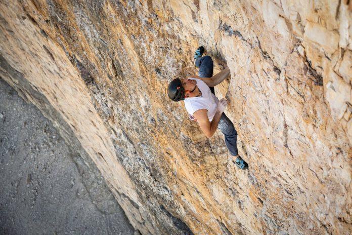 Dani Arnold mit neuem Speed Rekord an der Großen Zinne Nordwand (c) Mammut