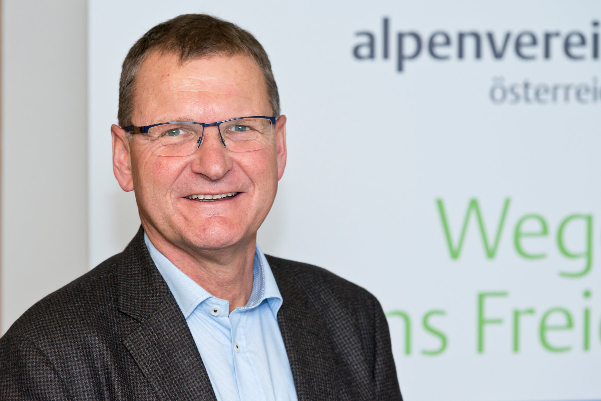Alpenvereinspräsident Dr. Andreas Ermacora (c) Alpenverein/Freudenthaler