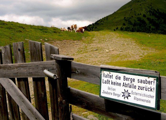 Appell der alpinen Vereine: 'Haltet die Berge sauber' (c) Österreichischer Alpenverein