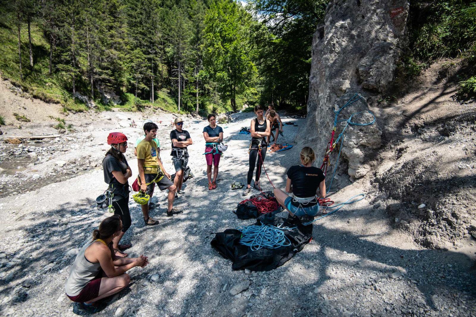 SAAC BIKE und CLIMB Camps 2021 (c) Daniel Hug