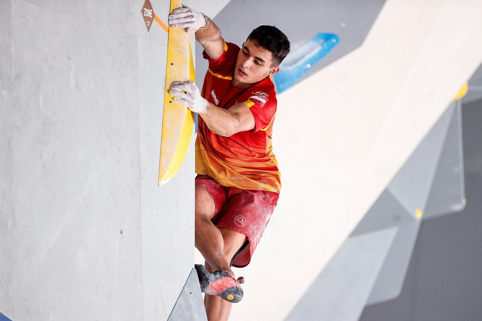 Gines Lopez (c) Dimitris Tosidis/IFSC